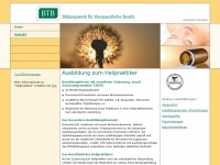 btb-heilpraktiker.de Webseite Vorschau