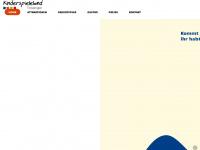 kinderspieleland-trossingen.de Webseite Vorschau