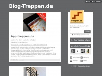 blog-treppen.de Webseite Vorschau