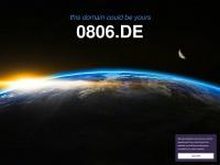 0806.de Webseite Vorschau