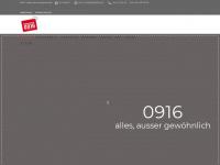 0916.ch Webseite Vorschau