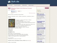 0uh.de Webseite Vorschau