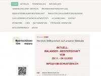 10m-schuetzen.ch Webseite Vorschau