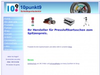 10punkt9.de Webseite Vorschau