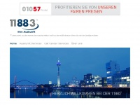 11883telecom.de Webseite Vorschau