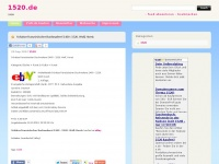 1520.de Webseite Vorschau