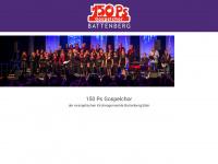 150ps-gospelchor.de Webseite Vorschau