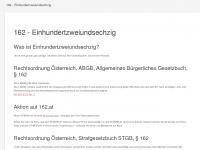 162.at Webseite Vorschau