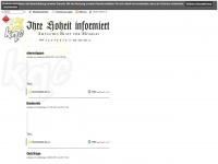 160th-soar.de Webseite Vorschau