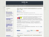 1696.de Webseite Vorschau