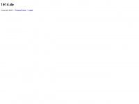 1914.de Webseite Vorschau