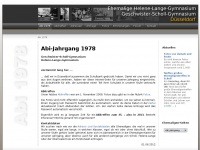 1978er.de Webseite Vorschau