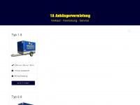 1a-anhaengervermietung.de Webseite Vorschau