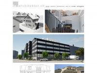 1a-architektur.ch Webseite Vorschau