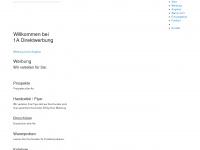 1a-direktwerbung.de Webseite Vorschau