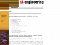 1a-engineering.de Webseite Vorschau