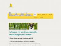 1a-finance.de Webseite Vorschau