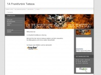 1a-frankfurtink-tattoos.de Webseite Vorschau