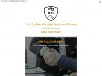 1a-gutachter.de Webseite Vorschau