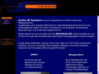 1a-klang.de Webseite Vorschau