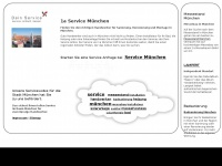 1a-muenchen.de Webseite Vorschau