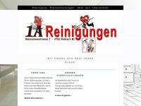 1a-reinigungen.ch Webseite Vorschau