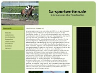 1a-sportwetten.de Webseite Vorschau