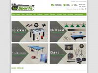 1a-sports.de Webseite Vorschau