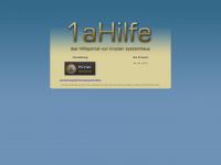 1ahilfe.de Webseite Vorschau
