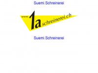 1aschreinerei.ch Webseite Vorschau