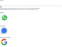 1aweb.de Webseite Vorschau