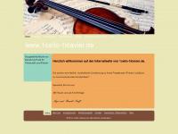 1cello-1klavier.de Webseite Vorschau