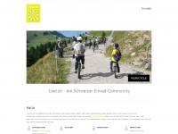 1rad.ch Webseite Vorschau