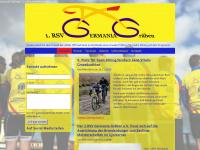 1radsportverein-germania-graeben.de Webseite Vorschau