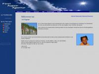1st-aupair.de Webseite Vorschau
