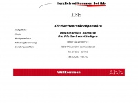1st-ibb.de Webseite Vorschau