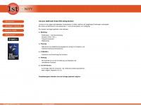 1st-serv.de Webseite Vorschau