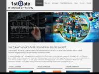 1stgate.at Webseite Vorschau