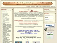 1zu12miniwelt.de Webseite Vorschau
