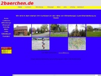 2baerchen.de Webseite Vorschau