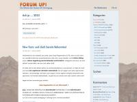 2bd-blog.ch Webseite Vorschau