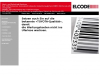 2d-code.ch Webseite Vorschau