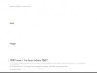 2daymusic.de Webseite Vorschau