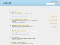 2da.de Webseite Vorschau