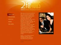 2famous.ch Webseite Vorschau