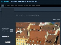 2g-works.ch Webseite Vorschau