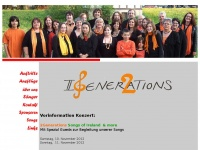 2generations.ch Webseite Vorschau