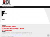 2k-lack-center.de Webseite Vorschau