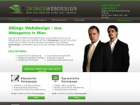 2kings.at Webseite Vorschau