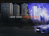 2m-designs.de Webseite Vorschau